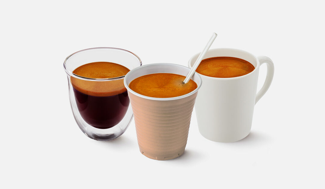 Bere il caffè: differenze tra le tazzine